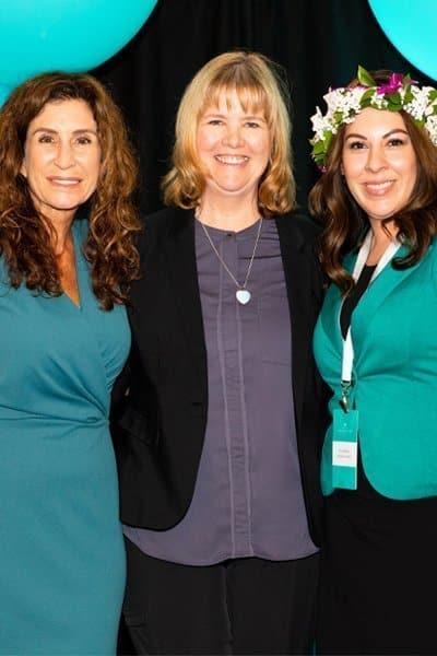 Desirae Marhoffer Maxine Drake and Debbie Fink Beauty Business Summit Grant winners
